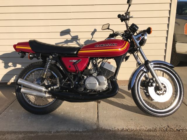 1976 Kawasaki H1 CLEAN For Sale Davenport, Iowa, United