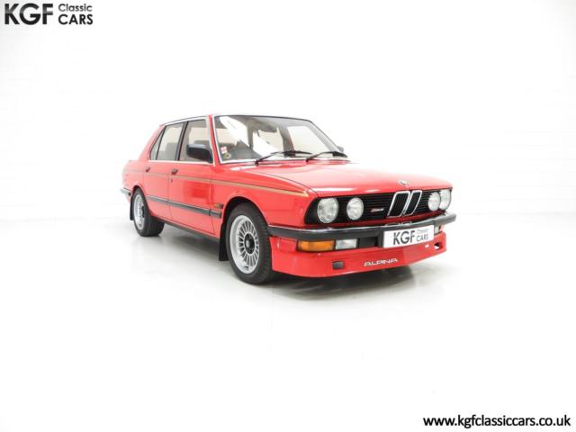 An Elite and Very Rare E28 BMW Alpina B2.8 with Only 29,643 Miles.