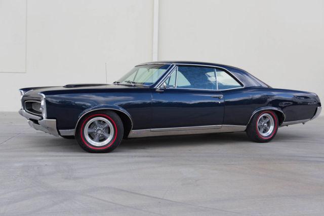 1967 Pontiac GTO, PHS Documented, Hurst Shifter,  Edelbrock Heads, Blue Restored