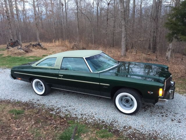1975 Chevrolet Impala Custom Fast Track 383 under 43K body