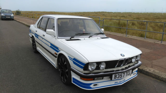 BMW 528i SE E28 ALPINA B2.8 RE-CREATION FROM NEW 64400 MILES SERVICE HISTORY