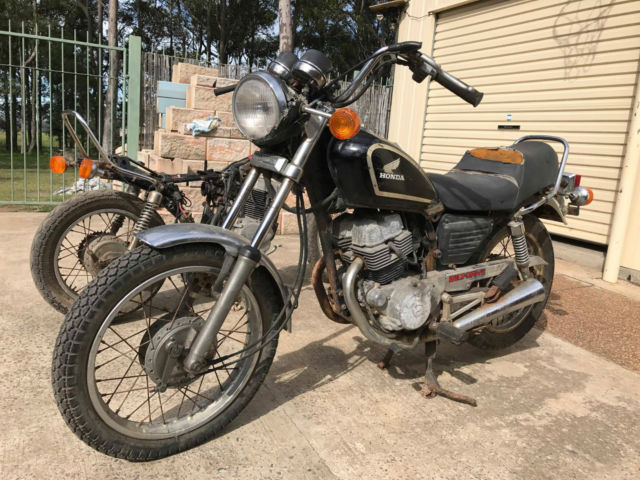 Honda Cm250c 1983 Amp 1986 Parts Bike 1983 Cm250 Belt Drive