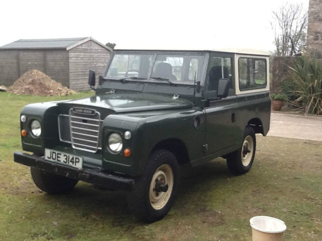 Classic Land Rover 1975 Series 3