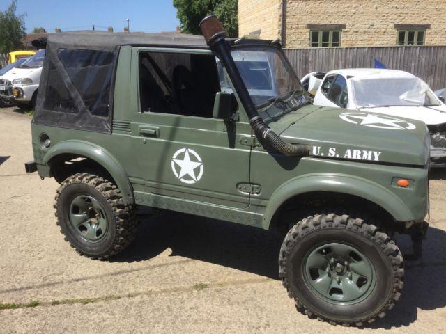 Suzuki sj410 , classic , army jeep , 4x4, project