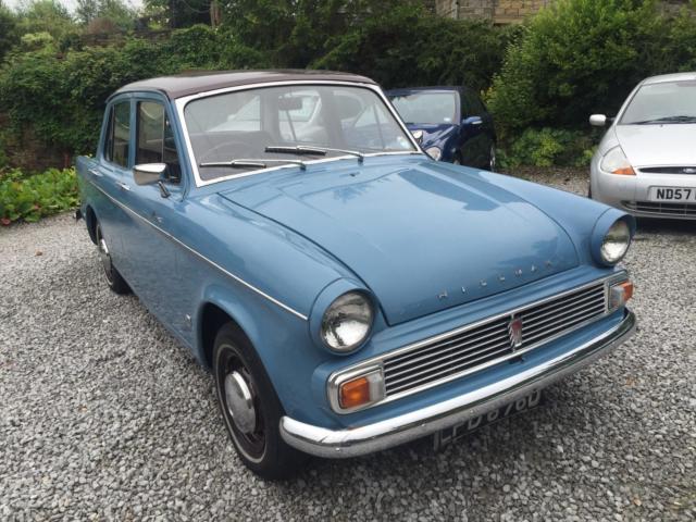 1966 Hillman MINX DE-LUXE 1725 automatic super minx blue