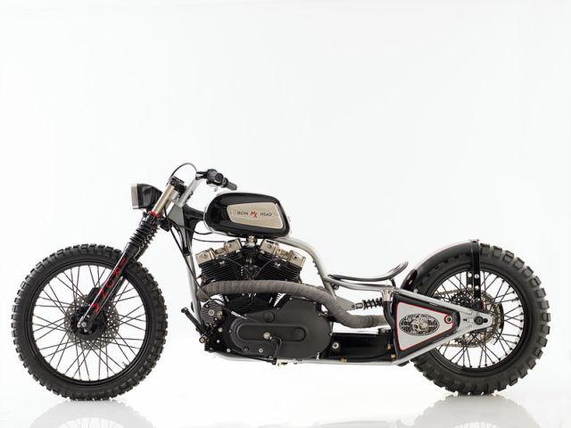 Custom Harley Street Sled; 1980 Ironhead (Hill Climber / Street Sled)