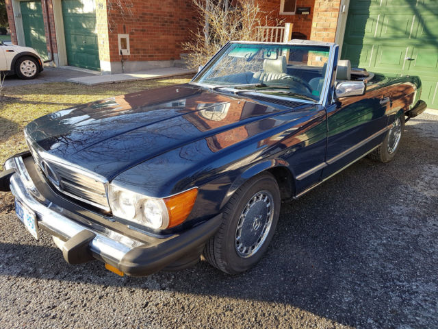 1986 Mercedes 560SL Excelent car. Fla car now in BC, Can.. Rust free. NO RESERVE