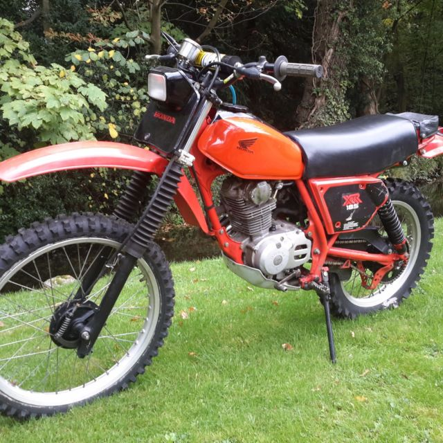 Honda xr 185 classic motorcycle vinduro barn find For Sale ...