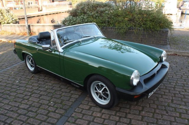 1979 MG Midget - Heritage Bodyshell Rebuild - Excellent condition