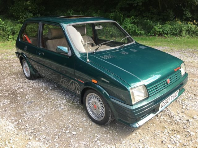 1989 MG METRO TURBO,Genuine Original BRG,Only 73,000 Miles,MOT 2018,RARE CLASSIC
