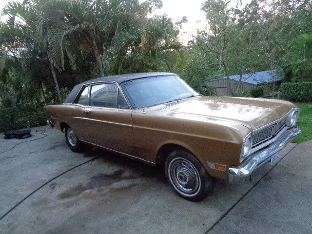 1969 FORD FALCON FUTURA 2 DOOR COUPE 6 CYLINDER AUTO RUNS & DRIVES XR XT XW XY