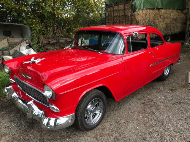 1955 55 CHEVROLET ONE FIFTY 2 DOOR 350 V8 HOT ROD V5 LHD cadillac buick pontiac