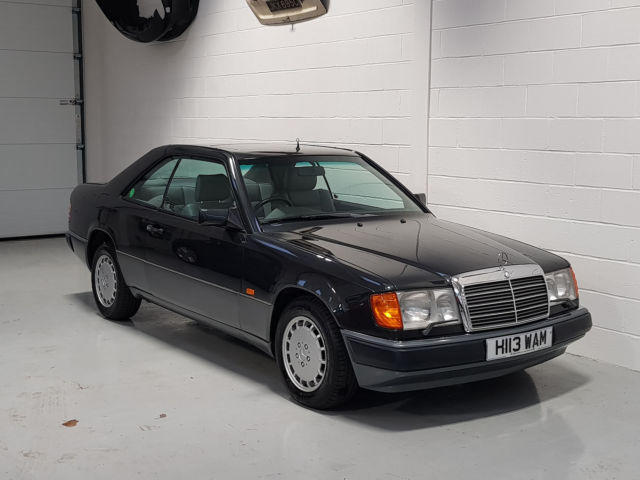 1990 MERCEDES 300CE W124 COUPE - 50,148 Miles - Same owner since 1 year old