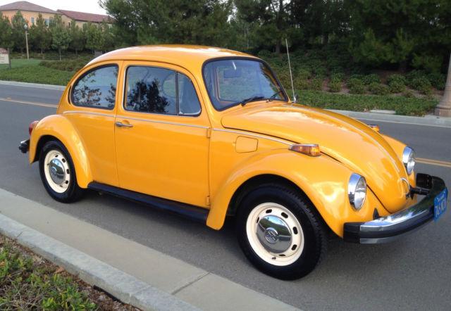 1975 Volkswagen Beetle - Classic bug
