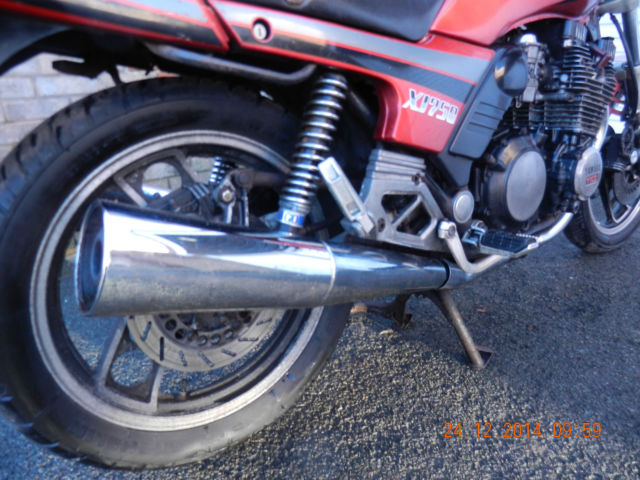 CLASSIC YAMAHA XJ750 SHAFT AIR COOLED TWINSHOCK RESTORATION PROJECT