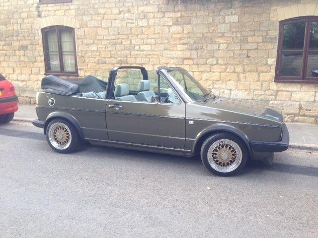 VW Golf MK1 Cabrio 2.0 16V