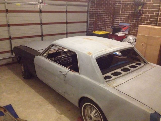 1965 Ford Mustang  289 coupe auto must see project car clean no rust