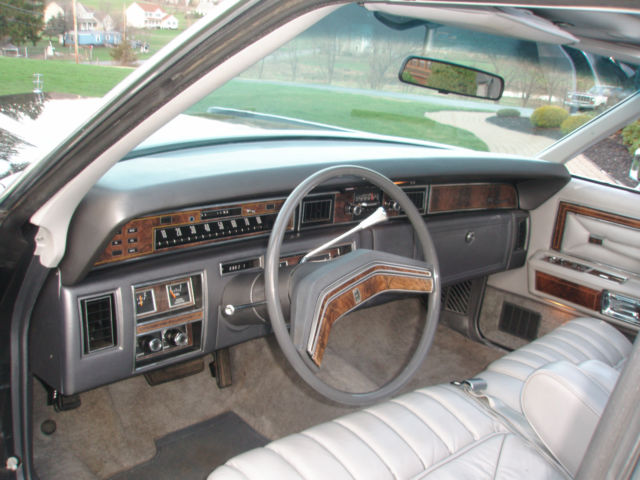 1977 Lincoln Continental Town Car For Sale Chester, New York