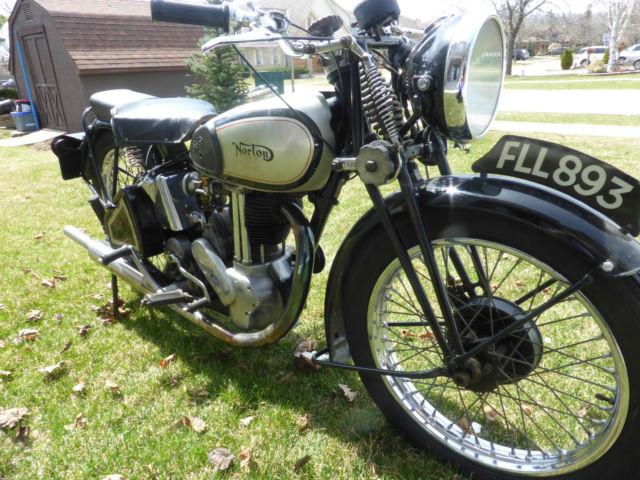 1939 Norton Model 50