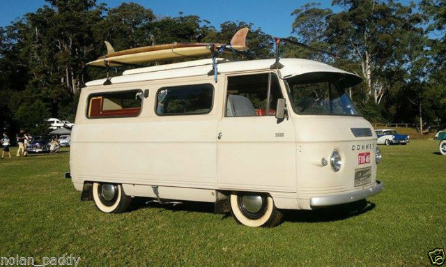 1964 Commer Poptop Camper Van may interest VW Kombi Splitscreen Splitty