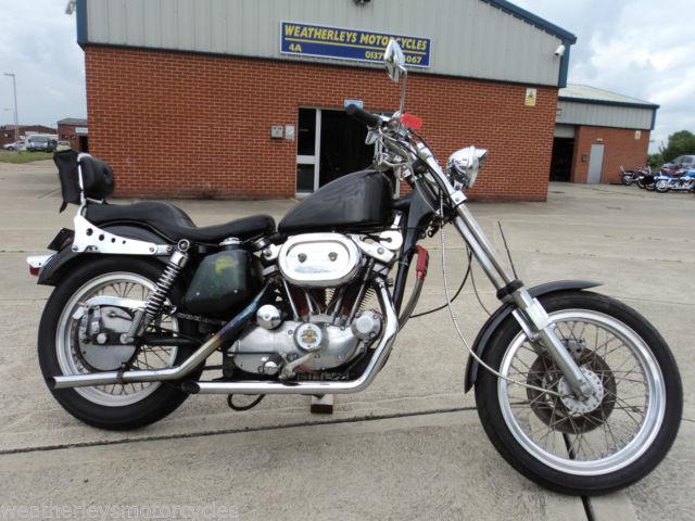 1975 Harley Davidson XLH 1000 Sportster
