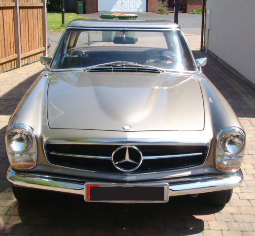 Mercedes 280SL 280 SL W113 Pagoda LHD  - Unused since Full Restoration