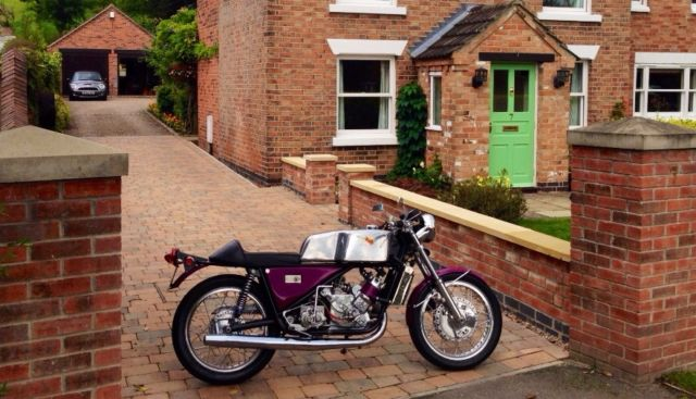 Scott Silk Special 600cc (Number 005 built) 1972