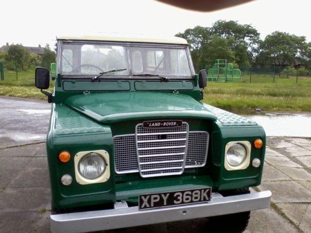 "Land Rover  Series 3 88"" tax exempt 1971 K reg PETROL full mot"