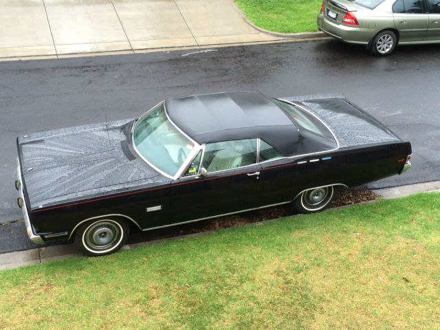 Plymouth Sport Fury 1969 Convertible suit Chev Ford Mopar Dodge Chrysler buyer
