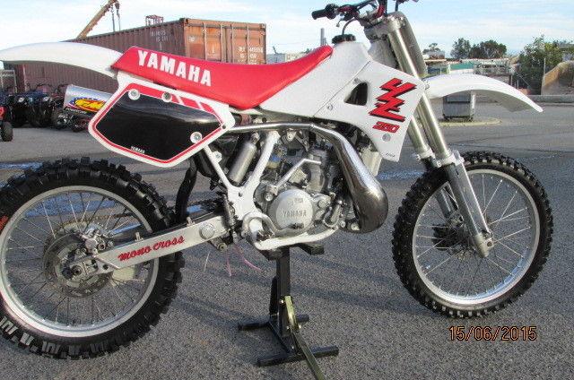 YAMAHA YZ250 - 1989  VINTAGE RESTORATION  $4990