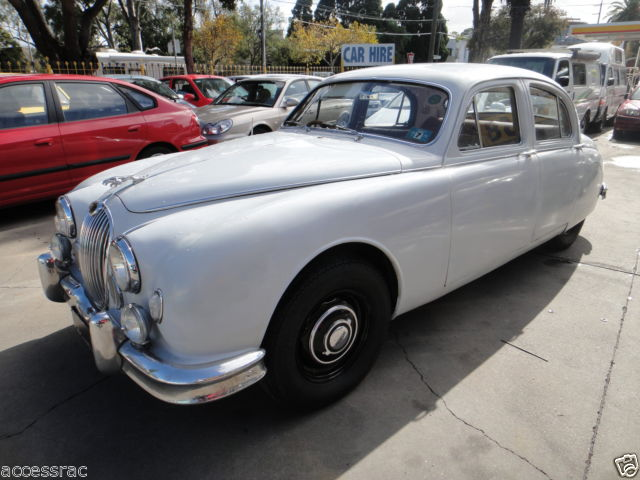 1958 JAGUAR MK1 SEDAN COLLECTORS ITEM