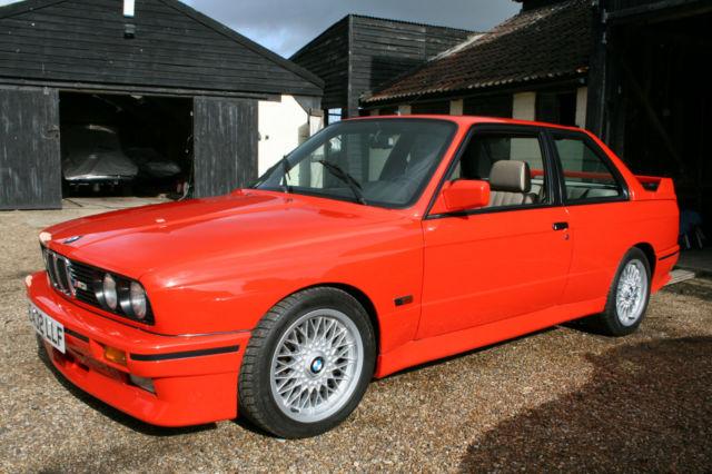 BMW M3 E30. Required