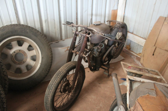 1948 Other Makes RARE 1948 Steyr-Daimler-Puch Graz Motorcycle