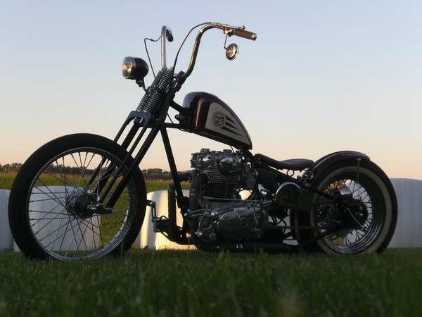 1981 Custom Built Motorcycles Bobber