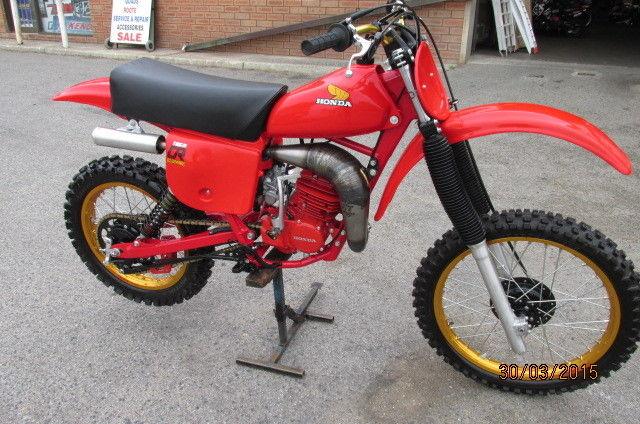 HONDA CR125 - 1979  $6990