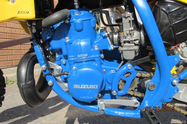 SUZUKI RM250 1986 VINTAGE RESTORATION $4990 For Sale