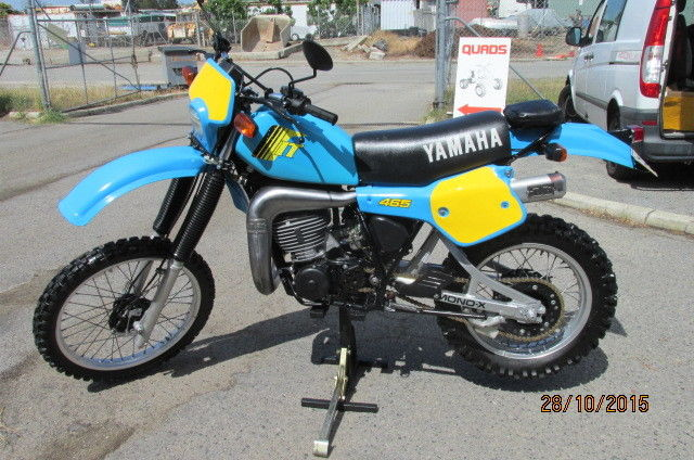 YAMAHA IT465 - 1981 LICENSED  $8990