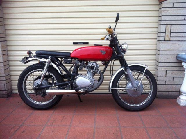 1969 honda cb125s cafe racer brat tracker