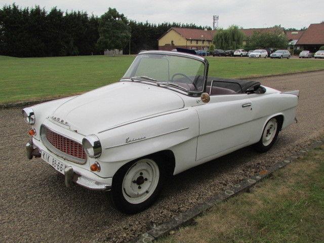 1960 Skoda Felicia 944 convertible