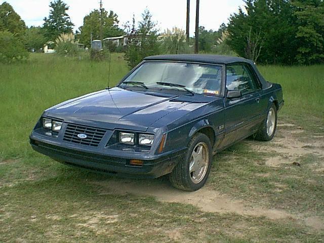 1984 Mustang LX Convertible