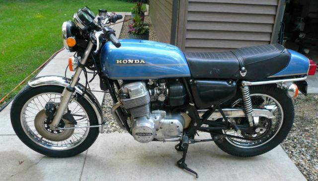 Vintage 1976 Honda CB 750 Four F Super Sport