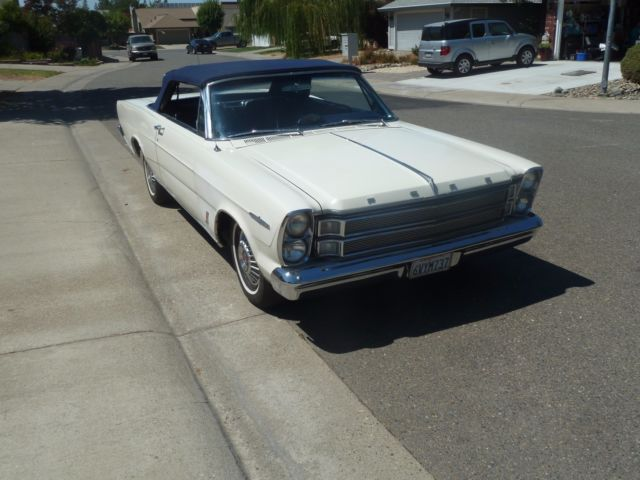 1966 GALAXIE XL CONVERTIBLE