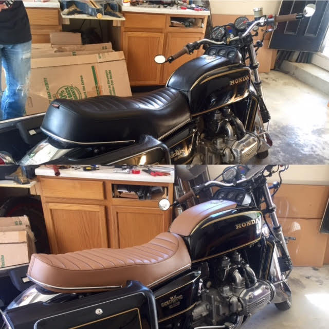 Im Selling My 1979 Honda Goldwing Cafe Racer Gl1000 W 78 Parts Bike