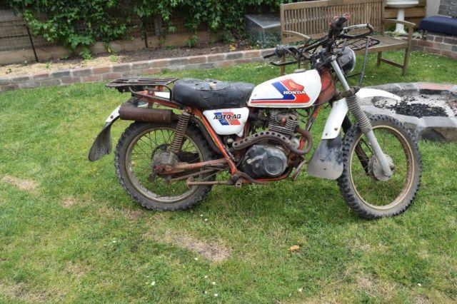 Vintage Honda Auto AG CT-200 Farm Bike