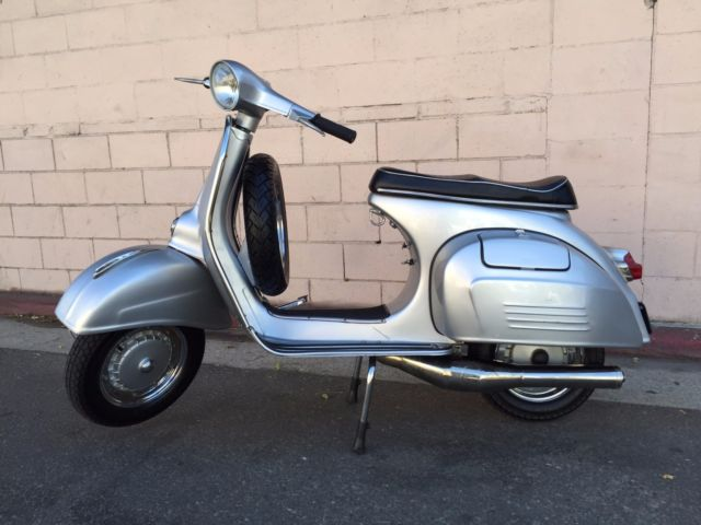 Restored 1966 Vespa VBC Super 150