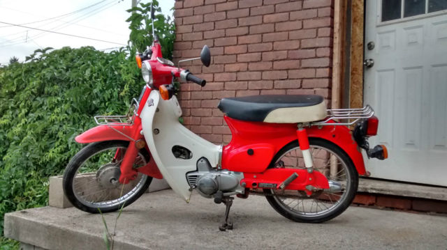Honda 1981 C70 Passport with title