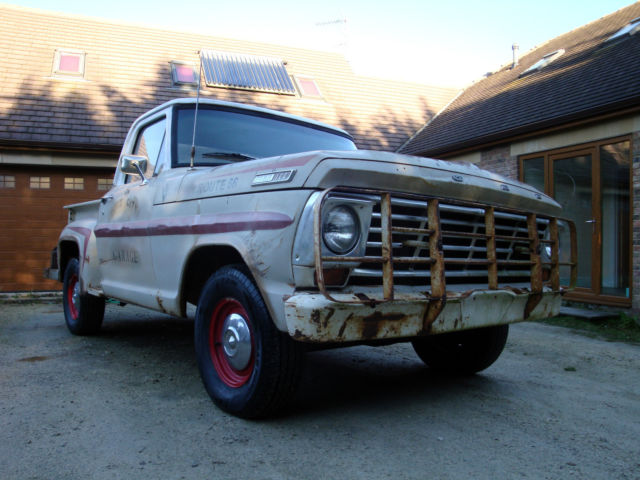 1967 Ford F100 Stepside Pickup - 352ci V8 Rat Rod American Shop Truck