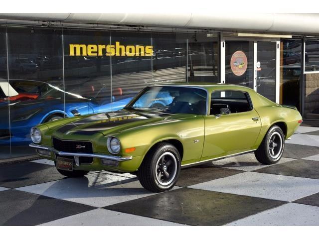 1970 Chevrolet Camaro Z/28 Original 350/360hp, Body-Off Restored, Citrus Green