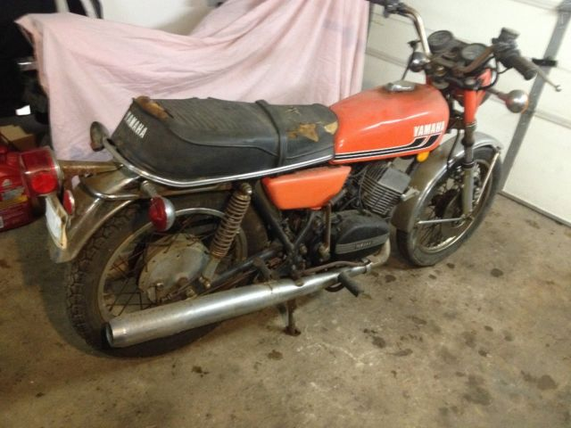 1975 yamaha RD 350 Project bike