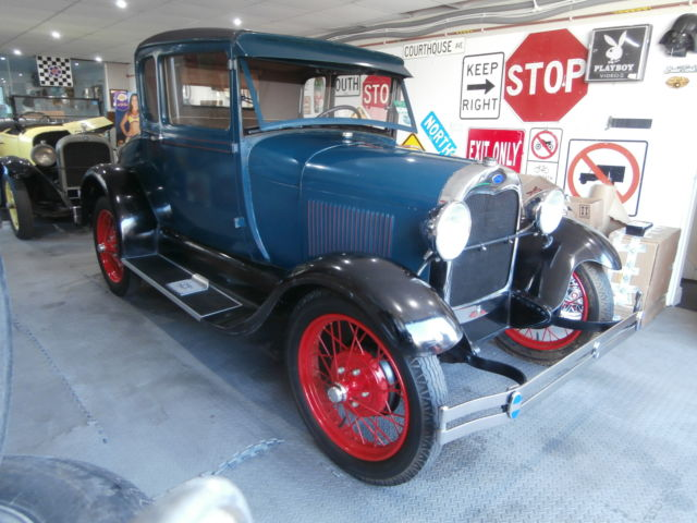 1929 Ford Model A Coupe, re-built Engine, Runs and drives great!